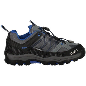 CMP Campagnolo Rigel Low WP Trekking Shoes Kids Grey-Zaffiro